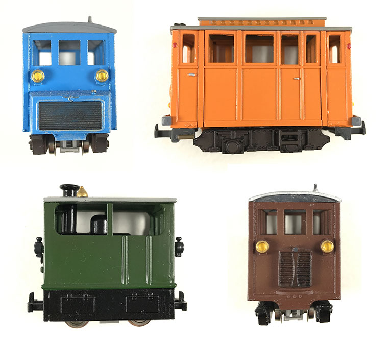 Pocket Bahn finished models